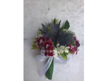 Exotic seasonal floral corsage