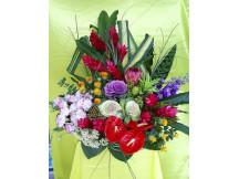 Glamorous look - Assorted mix of seasonal fresh flowers