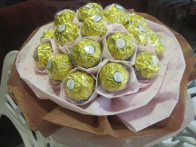 Forever Yours -  12 Rocher Chocolate Bouquet