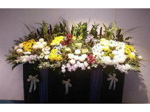 Always in our mind -Premier Fresh Floral Condolences Stand