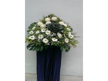 Sincere Condolence - 100% Fresh Floral - fillers may varies slightly as flowers are seasonal