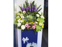 Superior  Fresh Floral Condolence Stand