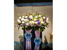 Dearly Missed - Premier Quality Fresh floral Stand
