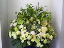 Held close in Heart - Varieties of Fresh Floral Condolence Stand