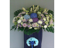 In Loving Memories Floral Stand