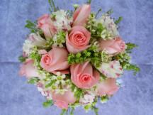 Modern 9 forever love super roses bridal bouquet